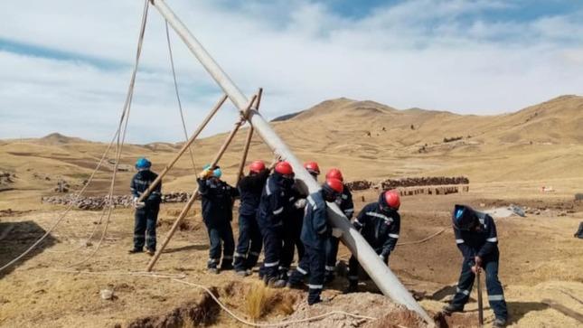 GORE Cusco lleva energía eléctrica a más de 850 beneficiarios en la Provincia de Chumbivilcas