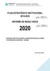 Vista preliminar de documento Evaluación del PEI 2019 - 2022, correspondiente al año 2020