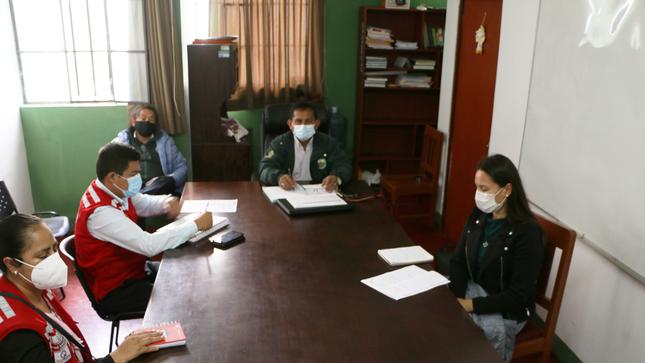 """Reunión con Qaliwarma para Intervención Temporal """"Hambre Cero"""""""