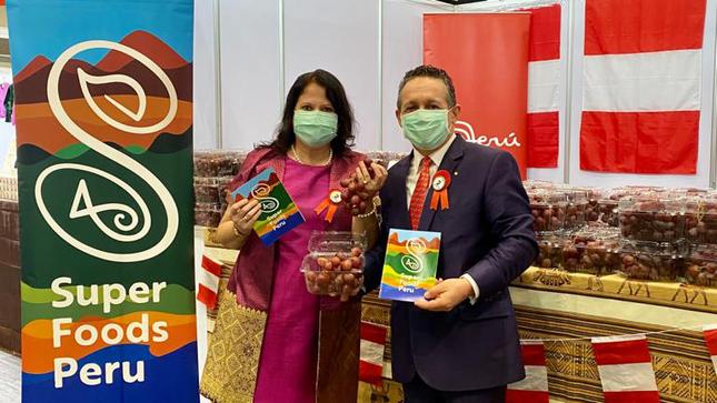 Participación del Perú en 54º Bazar Diplomático de la Cruz Roja