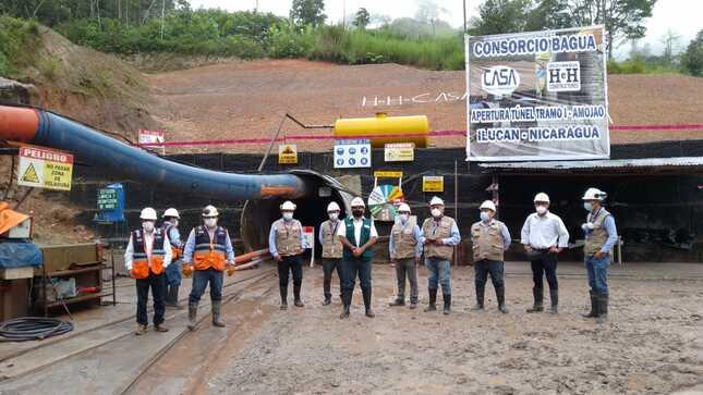 El MIDAGRI y el PEJSIB vienen concluyendo con éxito la construcción de 02 túneles de la Irrigación Amojao