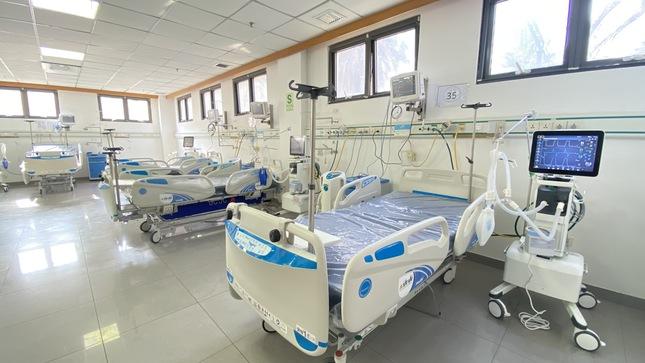 Hospital Loayza implementó nueva sala de cuidados intensivos para pacientes con Covid -19