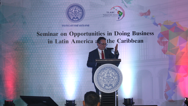 """Perú participated in Seminar """"Business Opportunities in Latin America and the Caribbean"""""""