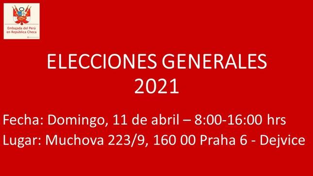 Elecciones Generales 2021 en República Checa