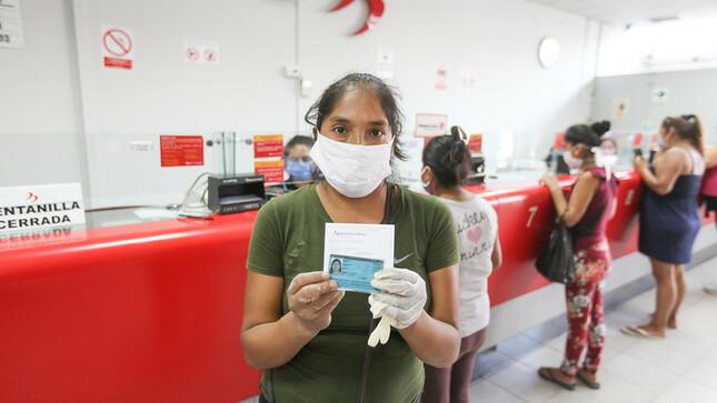 Ejecutivo dispone pago de S/ 760 a trabajadores en suspensión perfecta de labores y a pacientes con incapacidad temporal por el Covid-19