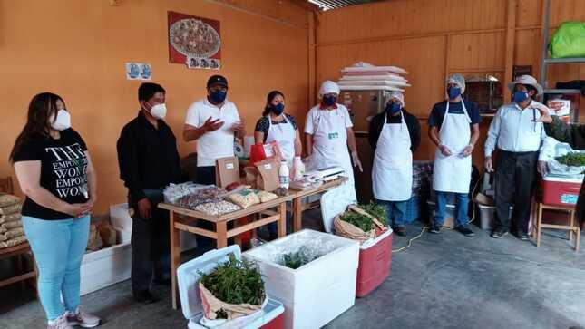 Emprendedores de Haku Wiñay de Huarochirí producen y venden hortalizas, derivados lácteos, carne y cereales por delivery