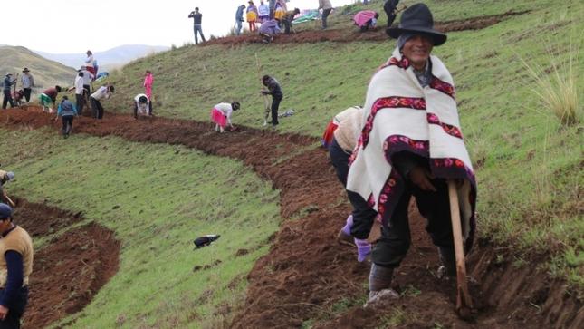 MIDAGRI generará más de 91 mil empleos temporales para las actividades de siembra y cosecha de agua