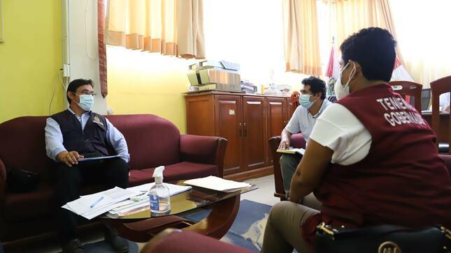 Gobierno Local, Ministerio Público y Subprefectura suman esfuerzos en favor de Utcubamba