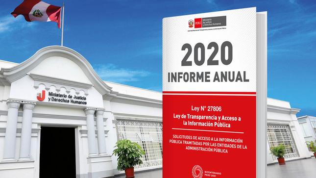 Entidades del Estado recibieron más de 163 mil solicitudes  de acceso a la información pública durante el 2020