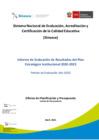 Vista preliminar de documento Informe de Evaluación de Resultados del Plan Estratégico Institucional 2020-2023