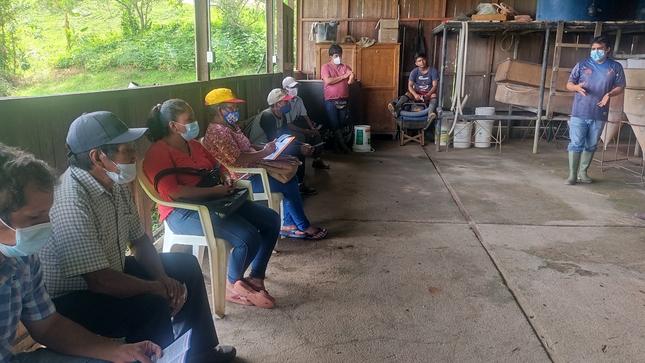 IIAP Huánuco desarrolló curso virtual y pasantía en  alianza con FONCODES
