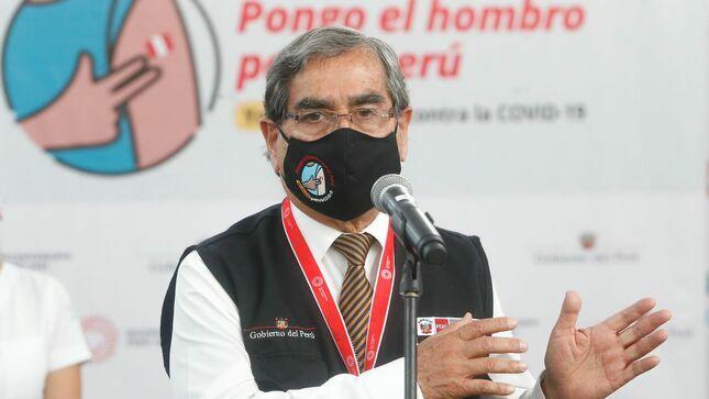 Ministro Ugarte: 'Nueva estrategia de vacunación contra COVID-19 inicia el 16 de abril'