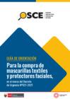 Vista preliminar de documento Guía de orientación para la compra de mascarillas textiles y protectores faciales, en el marco del Decreto de Urgencia N° 021-2021