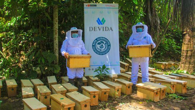 Huánuco: Devida entregará 1800 núcleos de abejas a apicultores del Alto Huallaga