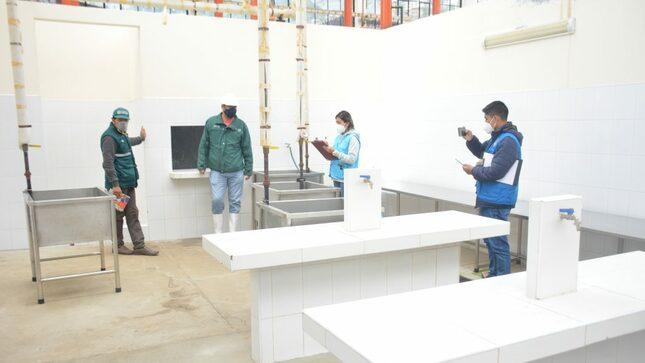 Áncash: Huari proyecta funcionamiento moderno centro de faenamiento municipal
