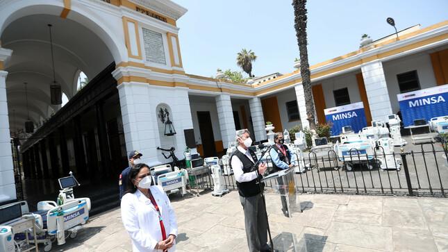 Presidente Sagasti formula llamado a partidos políticos para suscribir pacto por la mejora de la salud pública