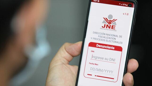"""Elecciones Generales 2021: Disponibilidad de aplicativo """"JNE Denuncias Extranjero"""""""