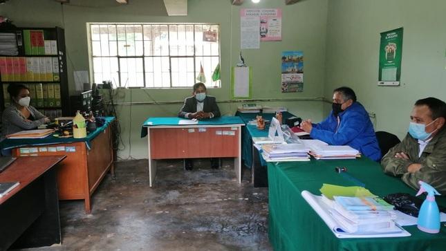 Designación de Nuevo Director de Agencia Agraria Chachapoyas con Sede en Leymebamba