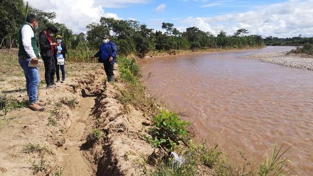 Autoridad Nacional del Agua identificó puntos críticos en la cuenca del río Mayo