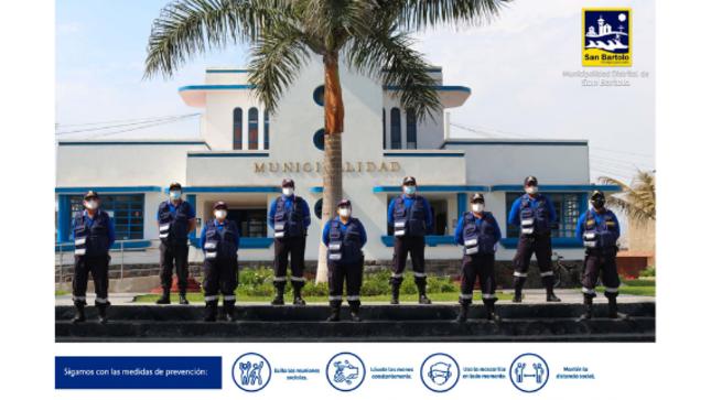 Entrega de uniformes para el personal de SERENAZGO de la MDSB