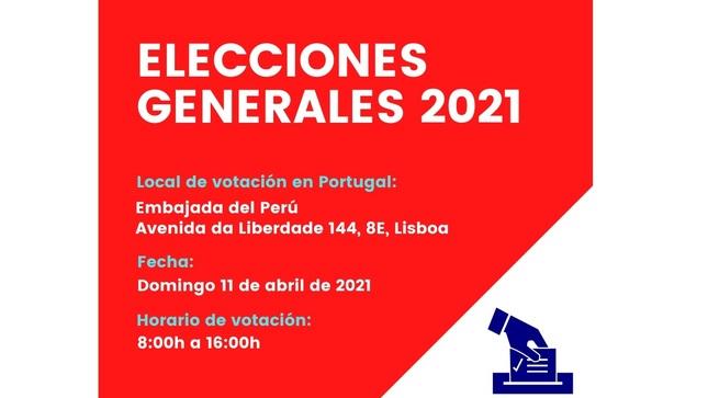 Elecciones Generales 2021 – Información de utilidad