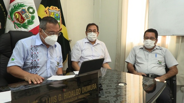 Gobernador Regional Luis Hidalgo solicita al Minsa envíe con urgencia camas UCI