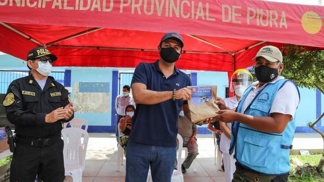 MPP entrega 5840 dosis de ivermectina a JUVECOS, transportadores, Sanidad de la PNP y Ejército del Perú