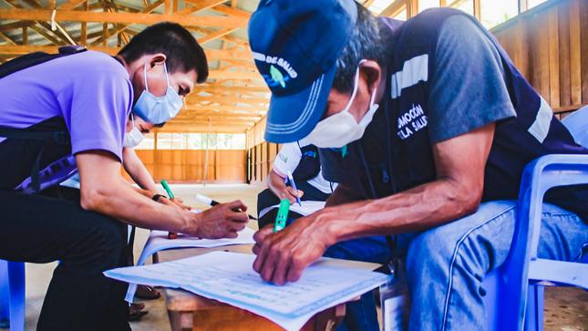 Condorcanqui: Agentes comunitarios son capacitados en planificación familiar con pertinencia cultural en el marco de la covid-19