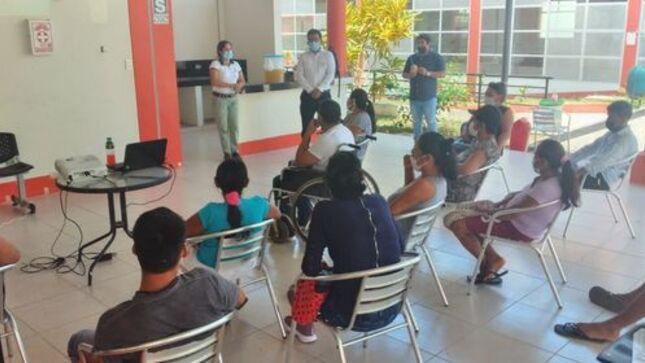 Ayer participaron de un taller. AVICULTURA PARA MEJORAR LA CALIDAD DE VIDA DE LAS PERSONAS CON DISCAPACIDAD DE LA PROVINCIA DE EL DORADO