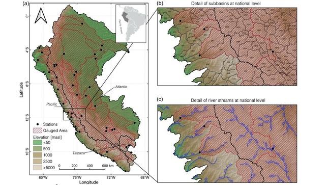 Senamhi desarrolla modelamiento hidrológico para estimación de caudales de más de 3500 subcuencas en el país