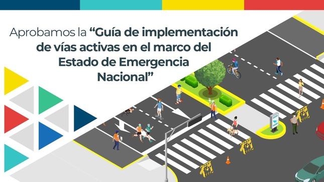 """Ministerio de Vivienda aprueba """"Guía de Vías Activas"""" para promover actividades deportivas y recreativas en la vía pública"""