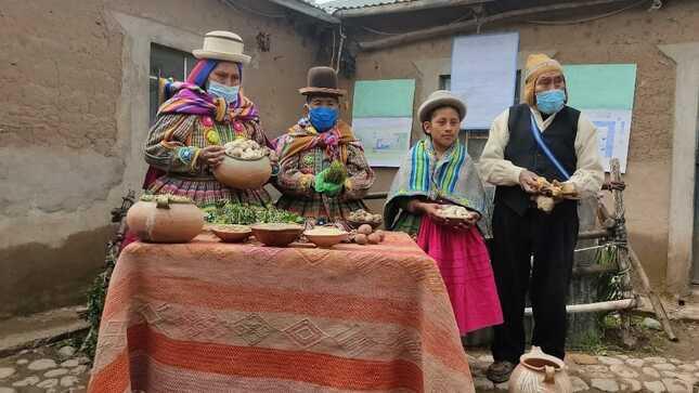 Puno: II concurso de buenas prácticas ante la sequía llega a etapa final en Taraco