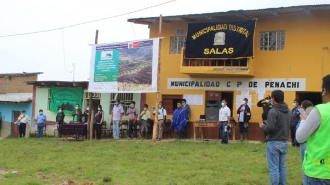 Ministerio de Agricultura y Riego Inicia Actividades de Siembra y Cosecha de Agua en Región Lambayeque