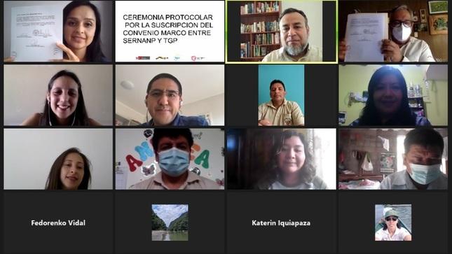 TGP y Sernanp se unen para desarrollar plan para preservar biodiversidad en Cusco