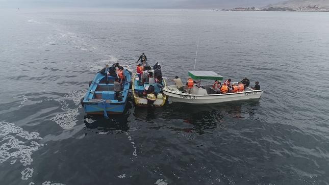 Conoce la Spondylus I: la nave guardiana de Punta Coles, en Moquegua