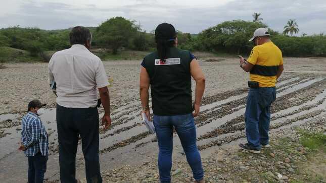 Identifican nuevos puntos críticos en ríos y quebradas del valle San Lorenzo