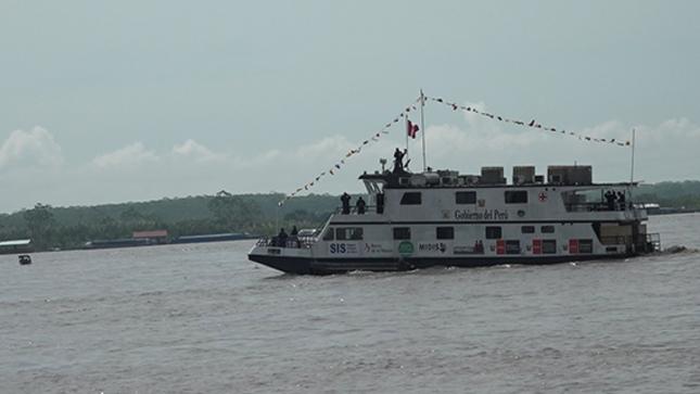 Zarpó el buque tópico hospital RAUMIS en su primer viaje de acción cívica