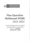 Vista preliminar de documento Plan Operativo Multianual 2021 - 2023