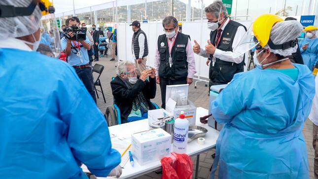 Presidente Sagasti: Dejaremos al próximo gobierno las dosis suficientes para seguir con vacunación contra la COVID-19 el 2021