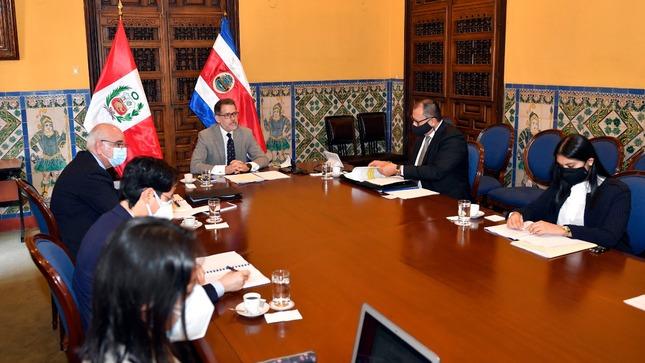 IV Reunión del Mecanismo de Consultas Políticas entre el Perú y Costa Rica