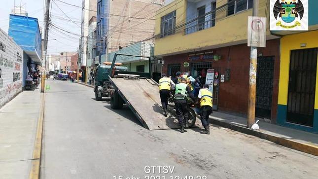 Continúa con liberación de calles en el centro de la ciudad