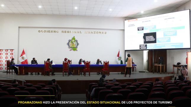 PROAMAZONAS hizo la presentación del Estado Situacional de los Proyectos de Turismo