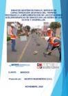 Vista preliminar de documento Caracterización geofísica de las estaciones acelerográficas del SENCICO Los Olivos y Chorrillos