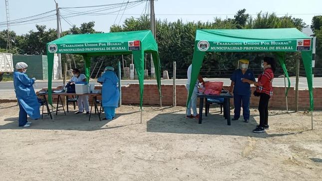 Se continúa con las intervenciones comunitarias preventivas en los poblados de Huaral