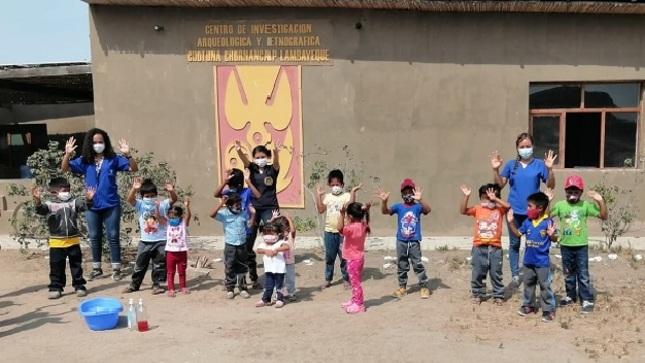 Niños de Chotuna-Chornancap aprenden y desarrollan habilidades