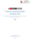 Vista preliminar de documento Plan de Comunicación Externa de la APN - 2021