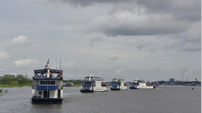 PIAS fluviales y lacustre llevan servicios a más de 100 mil personas de comunidades nativas y centros poblados de la Amazonía y el Altiplano