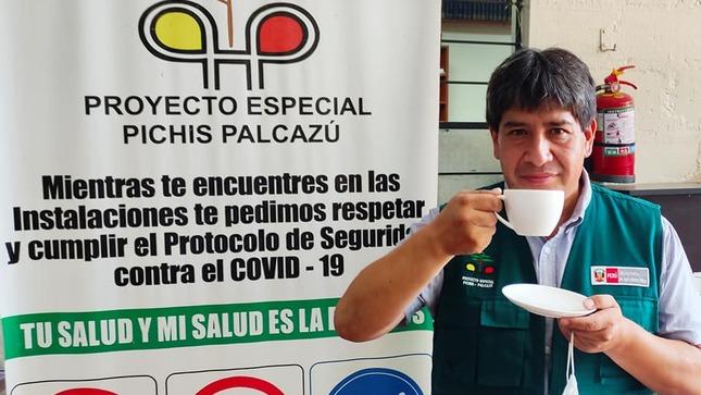 El Proyecto Especial Pichis Palcazú, promueve el consumo de café Chanchamaíno.