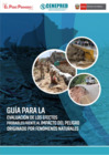 Vista preliminar de documento Guía para la Evaluación de los efectos probables frente al impacto del peligro originado por fenómenos naturales