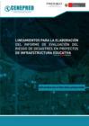 Vista preliminar de documento Lineamientos para la evaluación del informe de evaluación del riesgo de desastres en proyectos de infraestructura educativa